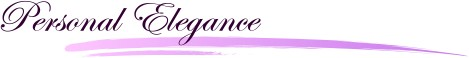 Personal Elegance Banner Graphic